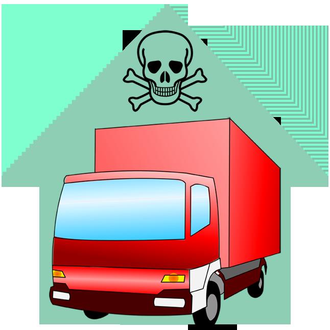 Schadstoffmobil oder Sammelstellen